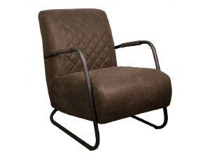 Bruine fauteuils
