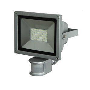 Luxform - Wandlamp Charon PIR 220 volt Aluminium