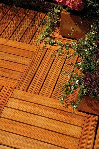 Tegels Almendrillo hout