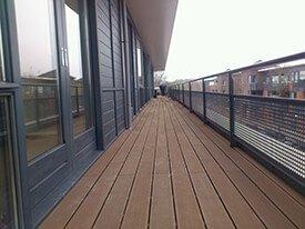 Bruin Composiet balkon