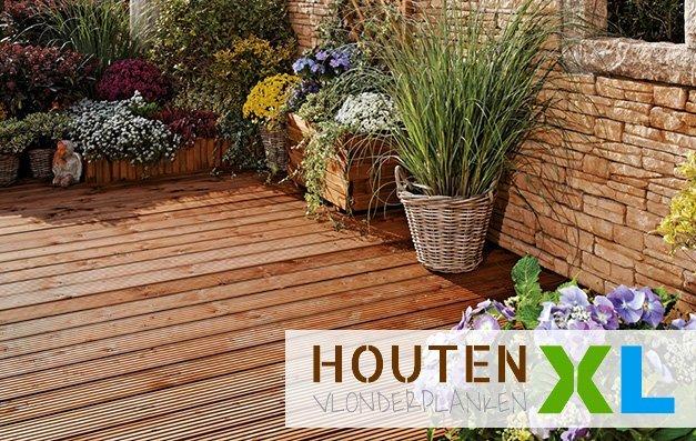 houten vlonder planken