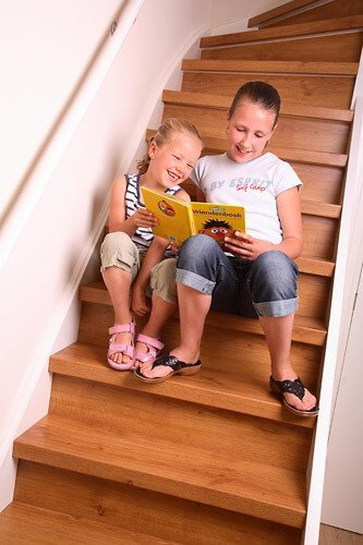 Stair Make-Over - Laminaat traprenovatie - Klassiek eiken