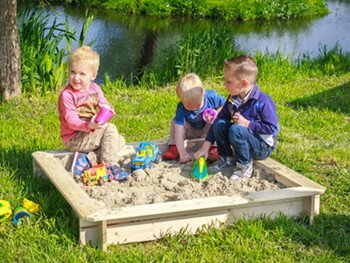 Zandbakken voor kinderen