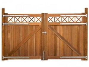 Dubbele poort