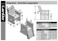 Steigerhout Stoel Klein